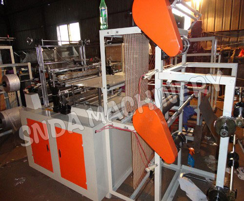 bottom sealing bag making machine